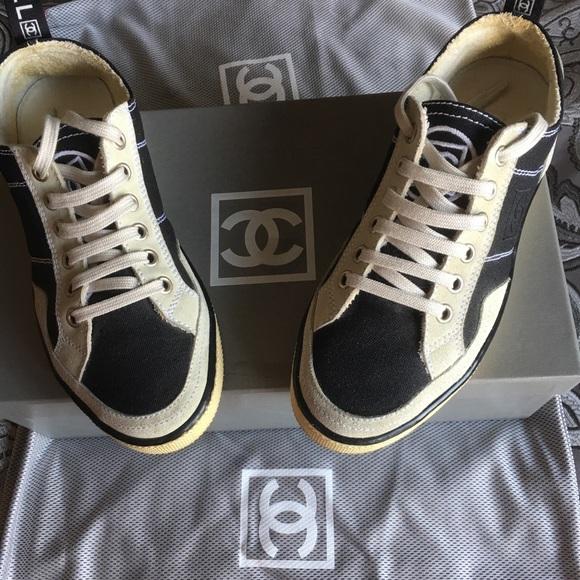 10ba3b3ce81e3 CHANEL Shoes - 🔥🔥🔥Chanel Tennis Sneakers 36.5